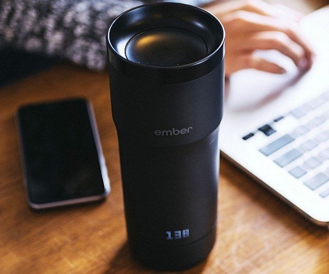 Temperature Controlled Travel Mug