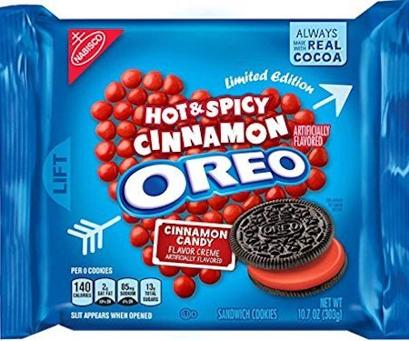 Hot and Spicy Cinnamon Creme Oreos