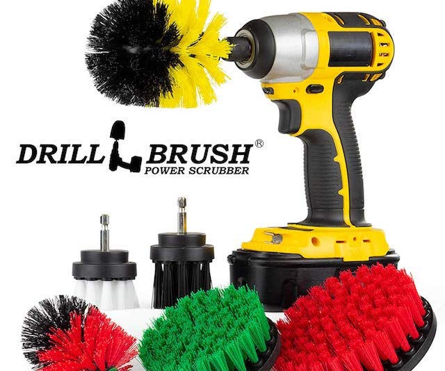 Drill Brush Power Cleaner