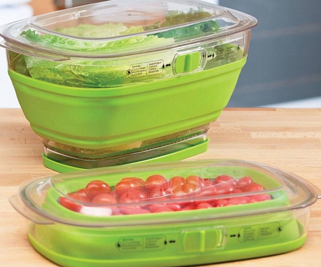 Collapsible Food Storage