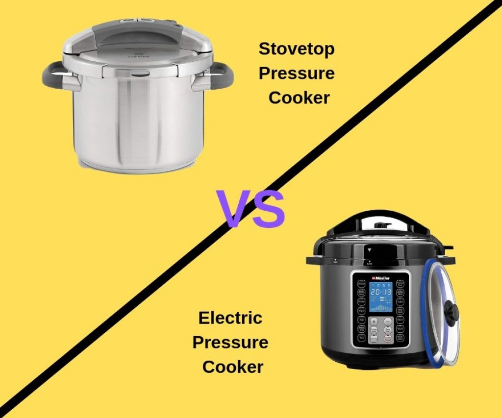 Stovetop vs Electric Pressure Cooker