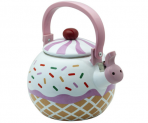 Cupcake Whistling Tea Kettle