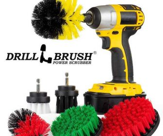 Drill Brush Kitchen Cleaner
