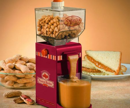 Electric Peanut Butter Maker