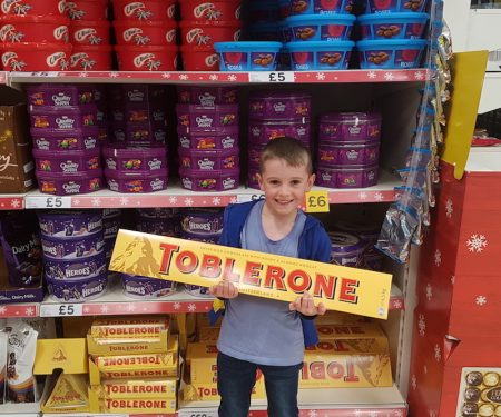 Giant Toblerone Bar