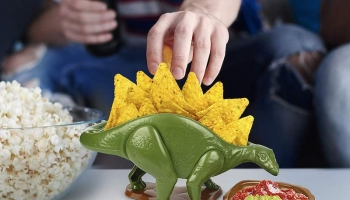 Nachosaurus Dip and Snack Set